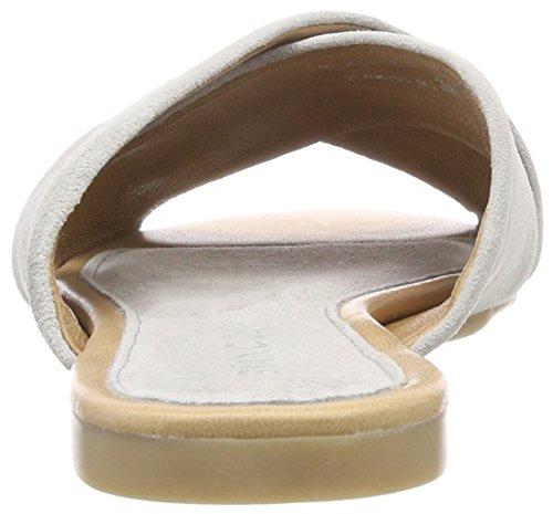 Bianco Cross Slipper, Mocassins Femme Gris (Grey 15)
