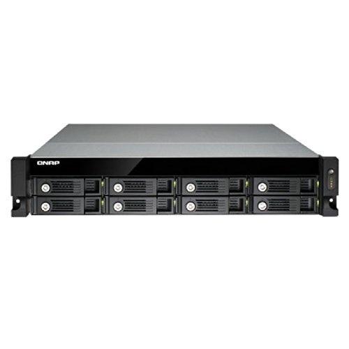 QNAP TS-870U-RP, 2U, 8-Bay iSCSI NAS, SATA III, USB 3.0
