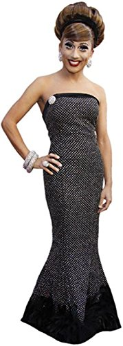 Celebrity Cutouts Bianca Del Rio (schwarz Dress) Pappaufsteller lebensgross