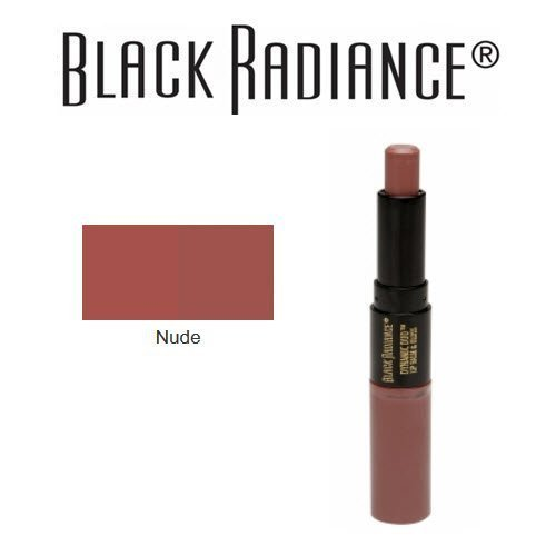 (Black Radiance Dynamic Duo Lip Balm & Gloss, Nude by Black Radiance)