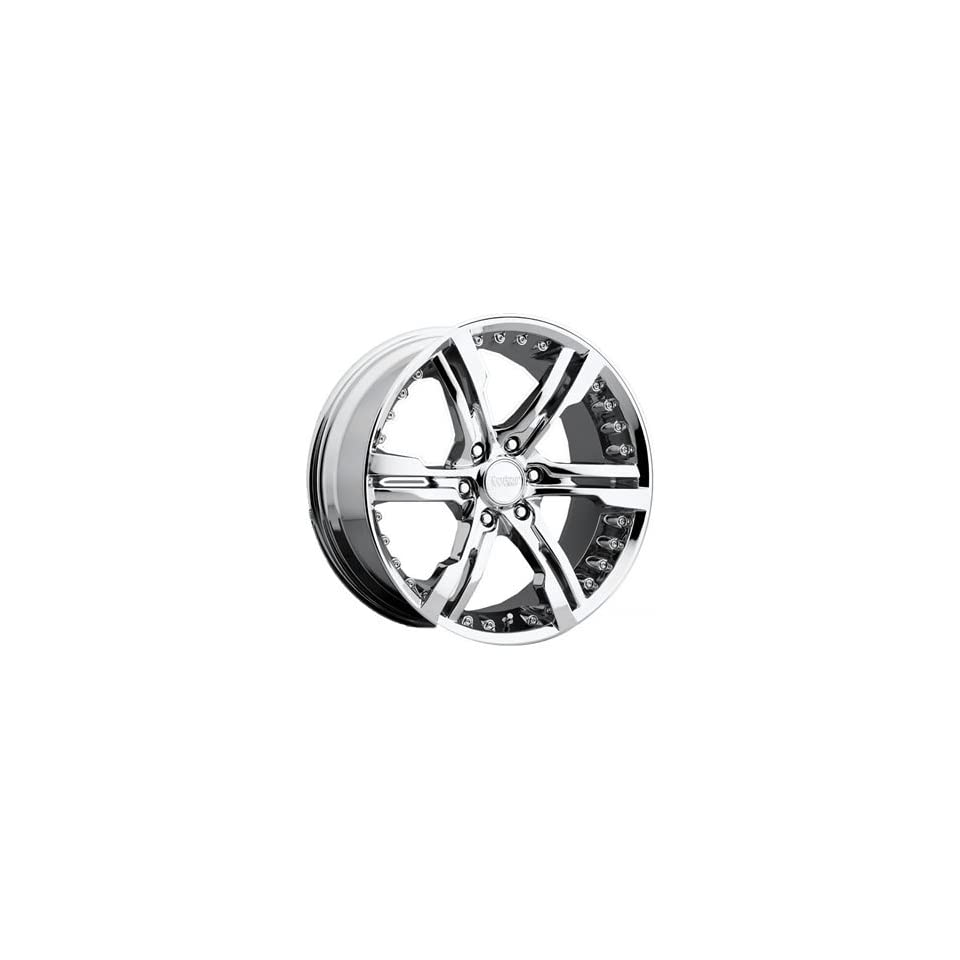 Cruiser Alloy Switchblade 6 20x9 Chrome Wheel / Rim 6x135 with a 30mm Offset and a 87.00 Hub Bore. Partnumber 904C 2906330
