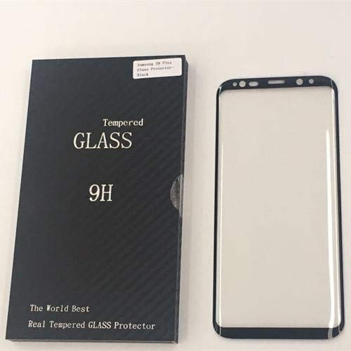 Samsung Galaxy S8 Plus 3D Full Cover Tempered Glass Screen Protector - Black
