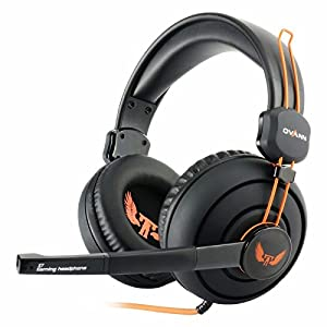 New PC Gaming Headset With Microphone for Computer Xbox One Pro PS 3 4 Games