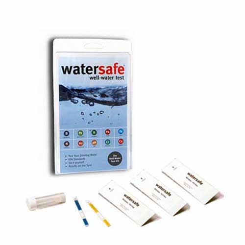 (2 X Watersafe WS425W Well Water Test Kit)