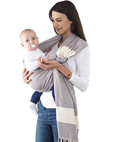755843273a5 Handwoven Ring Sling Baby Carrier - 100% Cotton Extra for sale Delivered  anywhere in USA