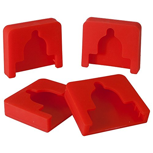Sili Pad for Pipe Clamps - 4 Pack of Pipe Clamp Pads