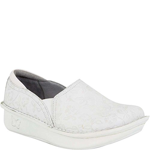 Alegria Women's Debra Slip-On (38 M EU / 8-8.5 B(M) US, Morning Glory White)