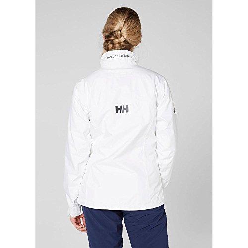 mujer Chaqueta 001 Blanco Hansen para Crew W Jacket Helly Blanco YF61wqwI