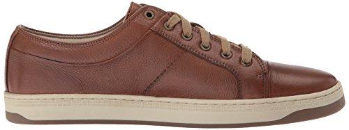 Havenarbeiders Heren Norwalk Fashion Sneaker Cognac