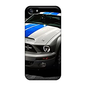 Premium Tpu Ford Mustang Shelby Gt500 Cover Skin For Iphone 5/5s