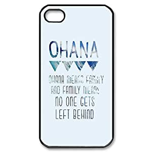 Madisonarts Customize Ohana Iphone 4/4S Case Hard Case Custom Case for Apple IPhone 4/4S-MA-Iphone 4-00863