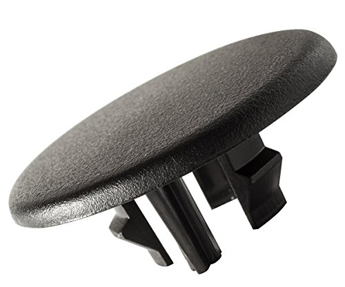 - Armrest Cap Cover for Select GM Vehicles - Replaces 15279689 Left or Right Rear Bucket Seat Handle Trim Bolt - Black