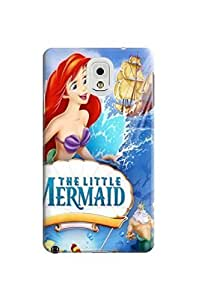 Abstract patterns tpu phone cover/case/shell with texture for Samsung Galaxy note3 of The Little Mermaid in Fashion E-Mall