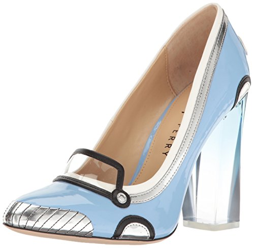 Katy Perry Women's The Thelma Heeled Sandal Soft Blue QGrnWgt