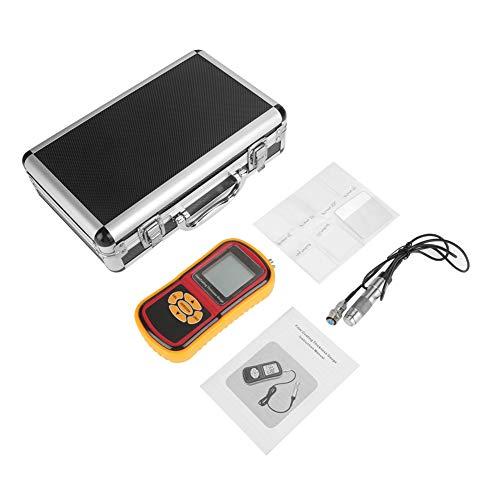 デジタルコーティング厚さ計、GM280 LCDディスプレイデジタルコーティング厚さ計0-1800μmペイントフィルムテスターメーター