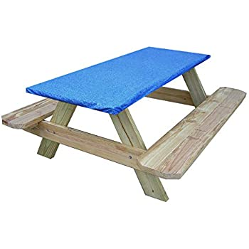 Amazon.com : 3-Pc. Picnic Table Covers (Summertime Cookout