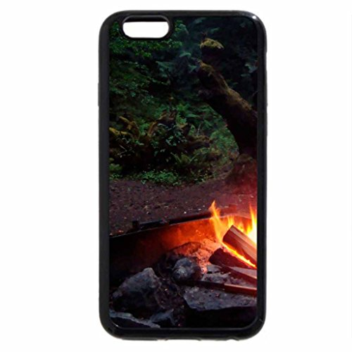 "iPhone 6S / iPhone 6 Case (Black) ""campfire""...."