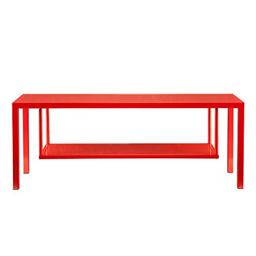 holly u0026 martin maians media console redorange