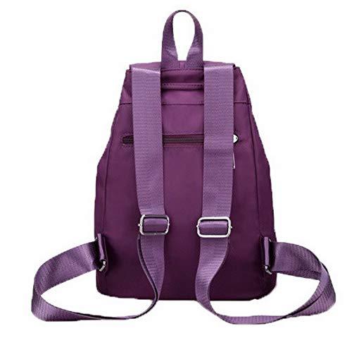 fourre Orné à Tout Mode Nylon Femme Violet Sacs Noir TSFBG182236 Sacs AalarDom bandoulière awgqW