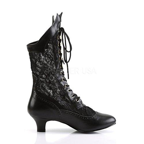 Black platform Flat Mattschwarz Womens Higher Heels 7CqwfqB