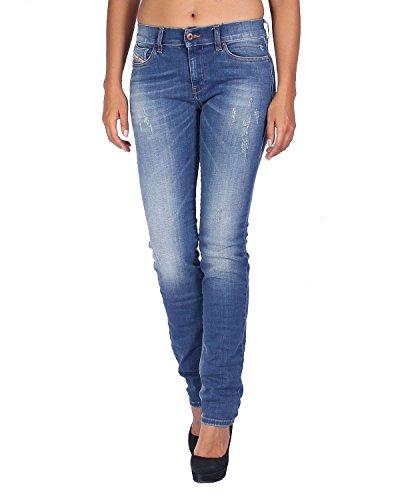 Jeans Blu Diesel Slim Rf608 Dona Da Regular Straitzee Straight 6q8qPd