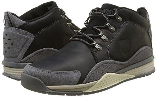 052 Black Antique EU 44 Zapatillas Swiss Eaton White K Charcoal P KSWA7 Hombre Negro CMF para OqPAPz