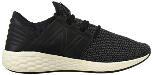 New Balance Women's Cruz V2 Fresh Foam Running Shoe Black/Magnet 5 B US by New Balance (Image #7)