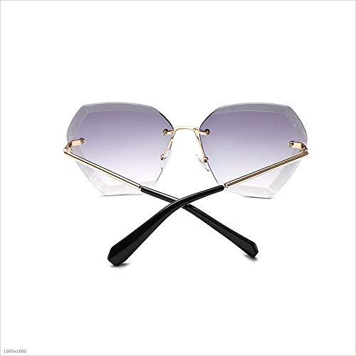 Bright Lunettes Lunettes Color de Protection Soleil de Sunglasses Lunettes Le Personnalité Joo Couleur Driving Infinity UV Jaune Gray de Soleil Soleil 6w0nZq