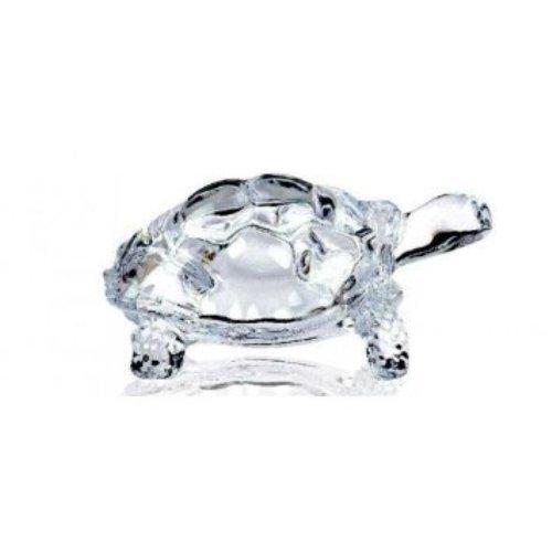 LightaheadCHINESE FENG SHUI TORTOISE TURTLE GLASS STATUE LUCKY GIFT OF GOOD - Tortoise Glass