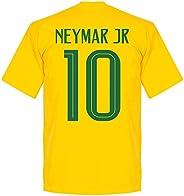 Retake Brazil Neymar Jr 10 Team Tee - Yellow