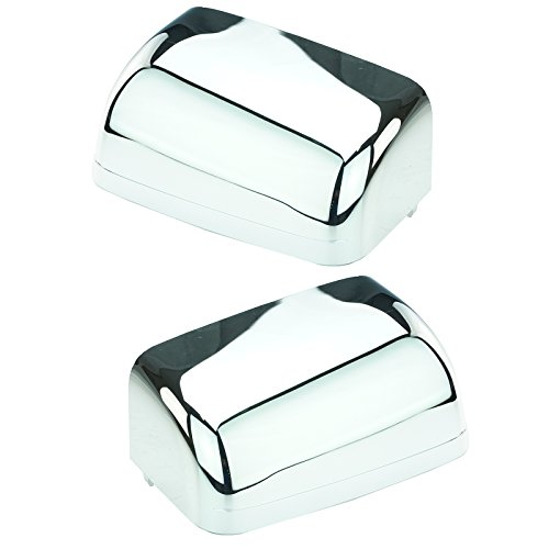 Mirror Caps Chrome Towing Pair Set of 2 for Ford F250 F350 F450 F550 Excursion
