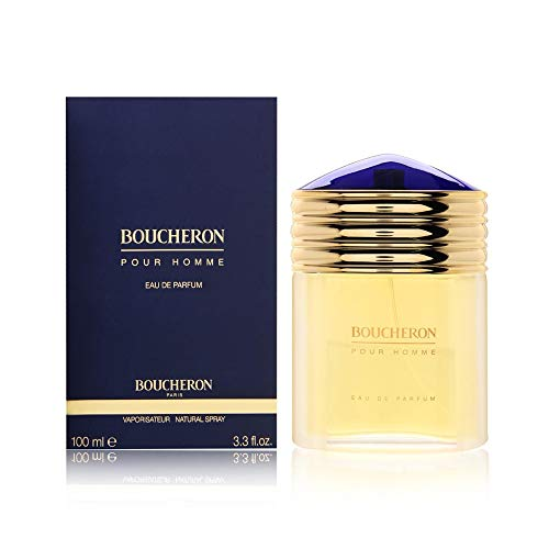 Boucheron Pour Homme Eau de Parfum, Woody Citrus, 3.3 Fl Oz