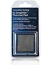 Innovation Cooling Graphite Thermal Pad – Alternative to Thermal Paste/Grease (30 X 30 mm) (40 X40 mm)