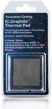 Innovation Cooling Graphite 40x40mm Wärmeleitpad