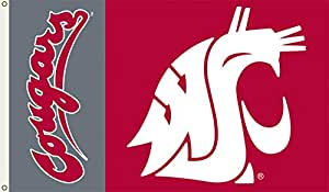 NCAA Washington State Cougars Flag with Grommets