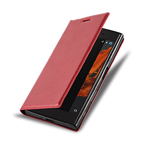 Cadorabo - Funda Book Style Cuero Sintético en Diseño Libro para >                          Sony Xperia X-COMPACT                          <