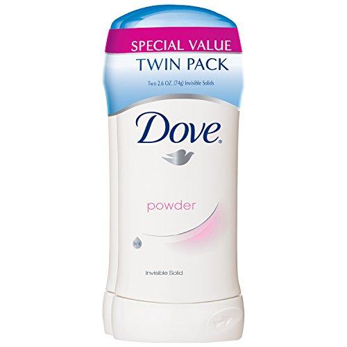 Dove Antiperspirant Powder Twin Pack