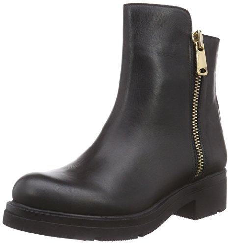 Inuovo FOSHEEZY - botas de cuero mujer negro - negro
