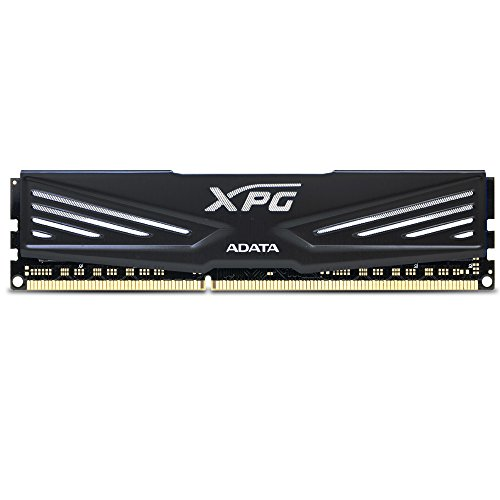 ADATA XPG V1 DDR3 1600MHz (PC3 12800) 8GB Memory Modules, Black (AX3U1600W8G9-RB)