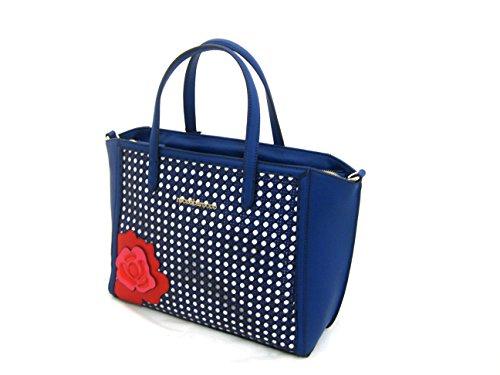 borsa blu roccobarocco mariel blu multicolor