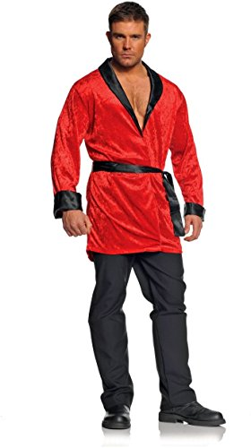 Under Wrap Playboy Smoking Jacket Adult -