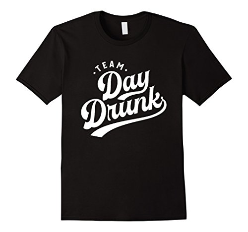 Men's Team Day Drunk T-Shirt - Cool TShirt For Men and Women HQ Large Black