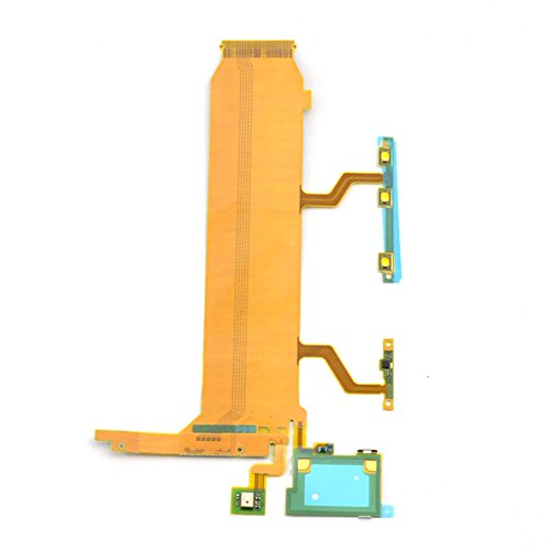Shinefuture Mainboard Flat Cable Volume Button Power LCD Flex Cable Repair Part for Sony Xperia Z Ultra XL39h C6802 C6806