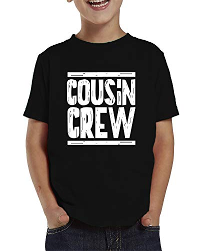 SpiritForged Apparel Cousin Crew Toddler T-Shirt, Black ()