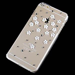 iPhone 6 compatible Diseño Especial/Look Diamante/Transparente/Innovador Cubierta Posterior(2236290)