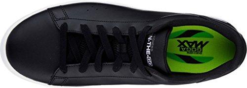 Skechers Hombres Go Vulc 2 Sneaker Negro / Blanco