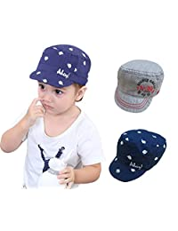 a603ed24 Guozyun Baby Boys Baseball Hats Sun Protection Caps Summer Play Hat for  6-30 Months