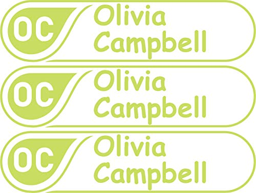 (Custom Name Label, Name and Initial Label, Bottle Labels, Waterproof Kids Name Labels for Baby Bottles, Sippy Cup for Daycare School, Dishwasher Safe, Microwave)