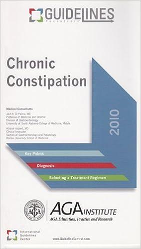 Vollständige elektronische Bücher zum kostenlosen Download Chronic Constipation GUIDELINES Pocketcard™: American Gastroenterological Association ( 2010 ) in German PDF ePub MOBI