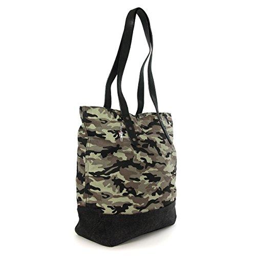 Borsa Per Verde Di Militare Donne Tracolla A Le Imppac Tela Uq0XdUx